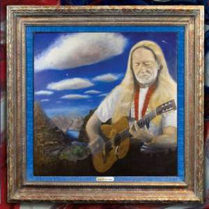 Cover to Willie Nelson Peace In The Valley