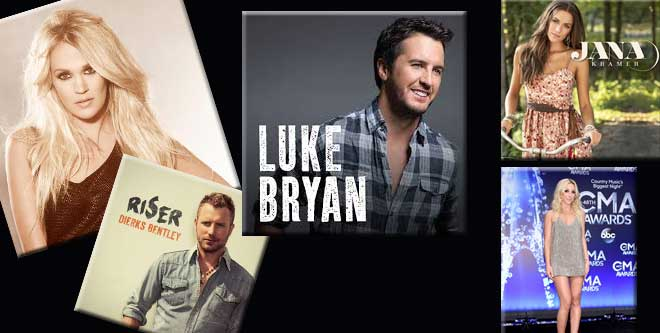 Country Music Song Round up 2015 with Videos